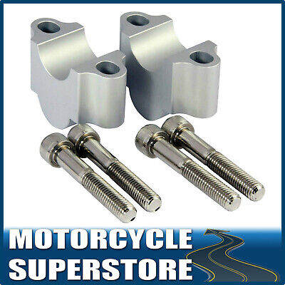 MOTORCYCLE MOTORBIKE HANDLEBAR RISER KIT FOR 22.2mm 7/8 STANDARD BARS