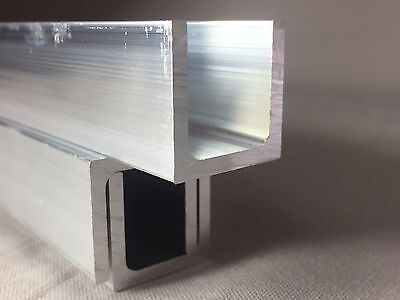 Aluminium U Channel Profile 20mm x 20mm x 2mm x 2000mm LONG     Give Best Offers
