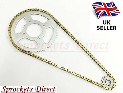 Chain and Sprocket Kit GOLD for Aprilia 50 RS '99-05 Heavy Duty