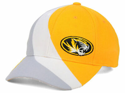 promo code 87b5d 14eee Missouri Tigers Mizzou Top of the World Slashed Structered NCAA Cap Hat