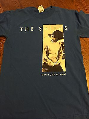 the smiths how soon is now t shirt size s cad. Black Bedroom Furniture Sets. Home Design Ideas