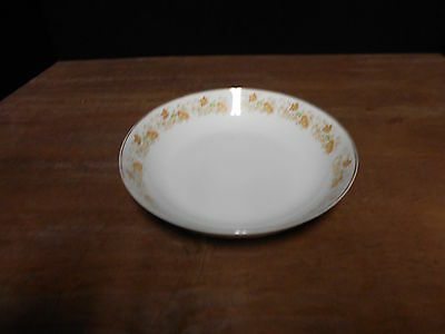 Coupe Soup Bowl Spring Garden Pattern Fine China Of Japan Multi Color On White