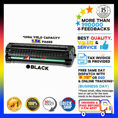 2x Generic MLT-D104 MLTD104S Toner for SAMSUNG ML-1665 1660 1860 1865 Printer