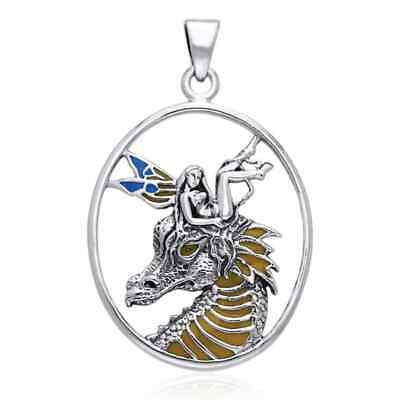Selina Fenech Madness of Hatred Fairy Sterling Silver Pendant by Peter Stone