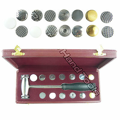 Texturing Hammer with 15 interchangeable faces Boxed set Jewellers Tools#1678
