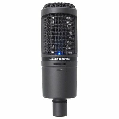 New!! Audio-Technica USB Microphone AT2020USBi Free EMS Speed Post Japan Import