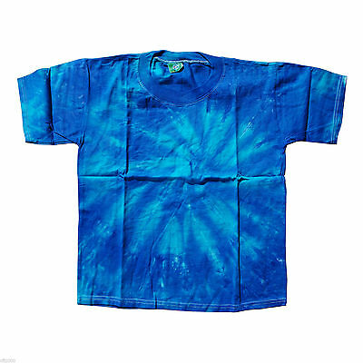 Wholesale Lot of 60 Quality Tie-dye kids T-shirts 4-6T Sizes Cotton Handcrafted