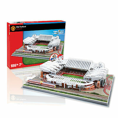 Manchester United Old Trafford Football Stadium 3D Jigsaw Puzzle 186 Pieces