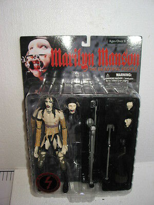 Figurine Marilyn Manson  The Beautiful Poeple Neuve