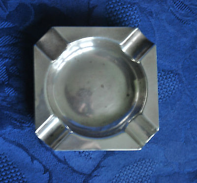 Hall Marked Silver Ash Tray        #512
