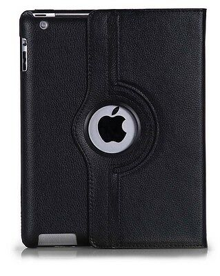 Housse Tablette Apple Ipad 6 / Ipad Air 2  Simiili Cuir   Rotatif 360°