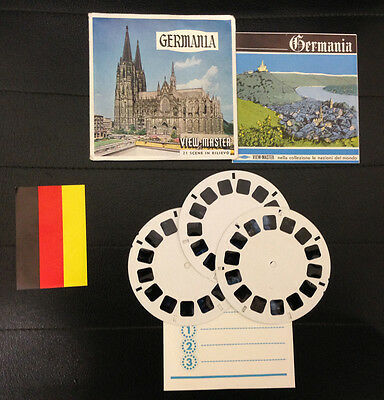 View Master Germania Deutschland Stereodisco Reel Rells 21 3D Pictures Vintage