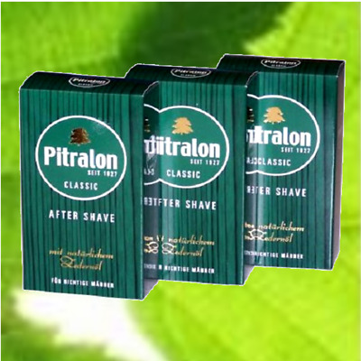 (6,32€/100ml) Pitralon Classic After Shave 3x 100ml #1