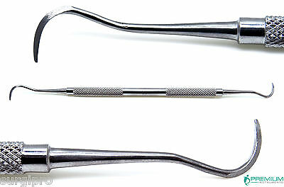 Sickle Scaler H6/h7, Dental Instruments, Periodontal Hygiene, Double Ended
