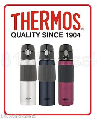 ❤ Thermos STAINLESS STEEL VACUUM INSULATED HYDRATION BOTTLE 18oz 530ML ❤