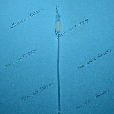 Long-Stem Hose Inlet Adapter,24/40,300MM,Straight Airway Tube,Chemical Glassware