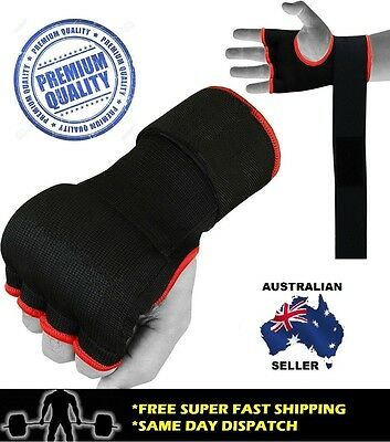 Boxing Gel Hand Wraps - Premium Quality MMA Muay Thai Quick Gloves Bandages