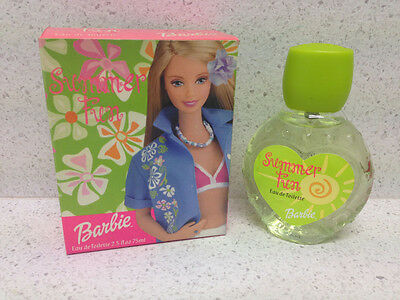 Profumo Barbie Summer Fun Estate Edt 75 Ml Spray Parfum Perfume Дух