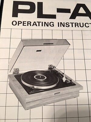 Pioneer PL-A35 Turntable Original Owners Manual 10 Pages