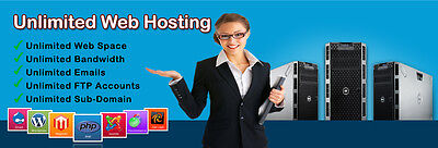 Unlimited Web domains cPanel hosting with Softaculous,scripts for 1 Year,SSL,SEO