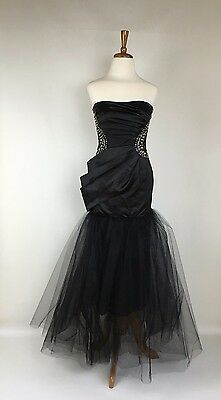 Womens Formal Gown Ladies Long Evening Dress SIze S 8 Bridal Wedding Bridesmaid