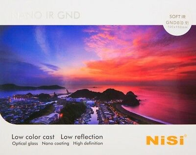 NiSi Soft IR GND8 (0.9)  100 x 150 mm Graduated Neutral Density filter