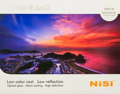 NISI Soft IR GND 4 0.6 100 x 150mm Graduated ND Neutral Density filter