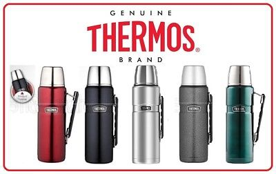 Thermos STAINLESS STEEL VACUUM Insulated Flask King Bottle 2 Litre 2.0 L 2L