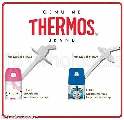 2x Thermos Mouthpiece Replacement Parts Straw Straws Spout Funtainer F400 F401