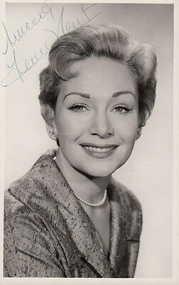 """JEAN KENT - PERSONALLY SIGNED 3.5"""" x 5.5"""" Photograph NOT DEDICATED"""