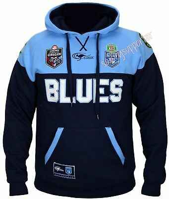 New South Wales Blues 2016 State of Origin Players Hoodie Hoody Adults Kids NSW