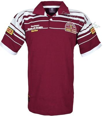 Queensland Maroons State of Origin 1995 Classic Retro Heritage Jersey S-5XL QLD