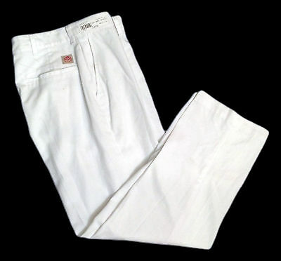 Red Kap White Men's Pants Industrial Work Uniform PT20WH (MANY SIZES)