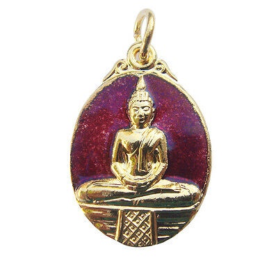 Rare Genuine Lp Sotorn Thai Powerful Buddha Amulet Rich Success Lucky Pendant N1