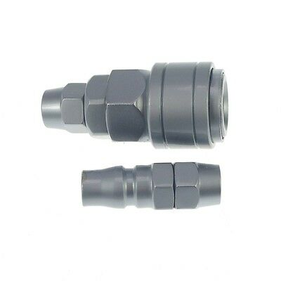 SP-20 PP-20 8mm OD Hose Air Quick Coupler Connector Steel Self Lock CLEARANCE!