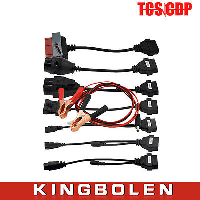 TCS CDP pro 8 car cables  with diagnostic Tool Interface cable scanner New