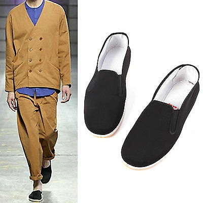 Non Slip Chinese Cotton Tai-Chi / Kung Fu Shoes Slippers Leisure Wear Uk 8 Uk 9