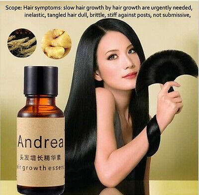 Andrea Hair Loss Serum Stimulate Hair Growth Essence Liquid 100% Natural Extract