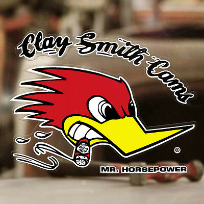 Mr. Horsepower Sticker Original Clay Smith Aufkleber Woodpecker 140mm rechts