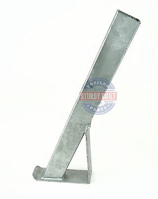 "Boat Trailer Winch Mount Post 2"" x 3"" x 28"" Tall Galvanized Bow Stand"