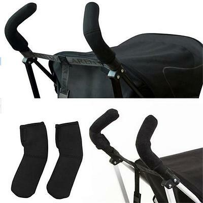 2PCS Baby Kids Pushchair Pram Stroller Buggy Outer Handle Bar Grip Covers NEW LH