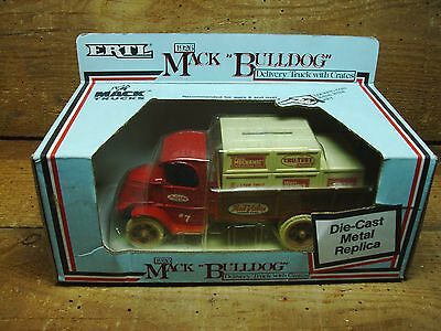 1988 True Value Collectible Toy  < 1926 Mack Bulldog Delivery > Diecast - Bank