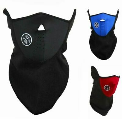 THERMAL Neoprene Biker Ski Motorcycle Bike Face Neck Cover Warm Balaclava Mask