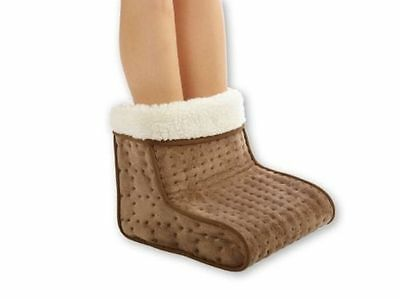 Electric Foot Warmer / Feet Heater With 6 Temperature Settings Washable Bnib