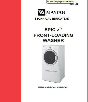 Whirlpool Maytag Vertical Modular Top Load Washer Service