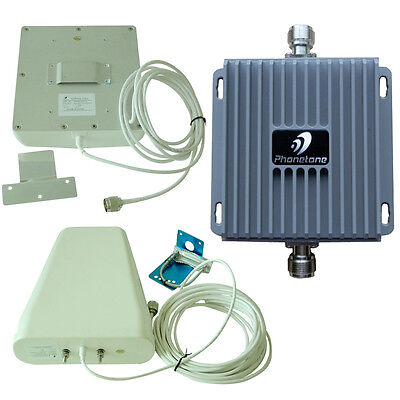 850/1900MHz 65dB Cell Phone Signal Booster Repeater For 3g Bell Mobility TELUS