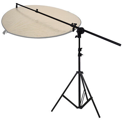 PhotR Collapsible Reflector Holder Boom Arm + 3m Photo Studio Light Stand Tripod