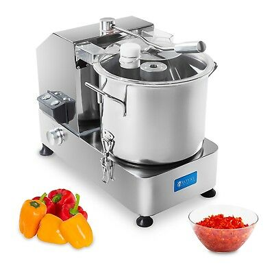 Kitchen Cutter 12 Litres Stainless Steel 950 W Rotation Speed 1100-2500 Rpm New