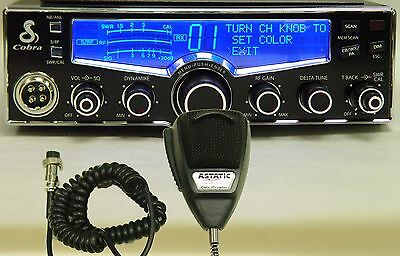 NEW Cobra 29 LX CB Radio & Astatic 636 Mic + Modulation/Talkback Boost PRO Tuned
