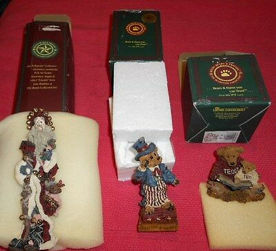 LOT of Three Boyds Bears & Friends Collectible Figurines.  Orig. over $50!